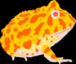 Pac-man Frog clipart