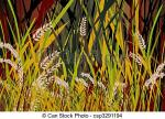 Paddy Field clipart