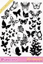 Papillon svg