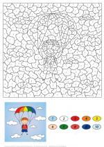 Parachute coloring