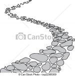 Walkway clipart