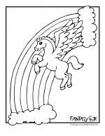 Pegasus coloring