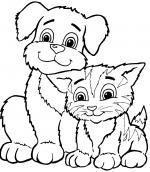 Pet coloring