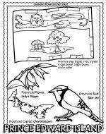 Prince Edward Island coloring