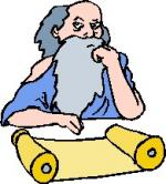 Philosopher clipart