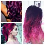 Pink Hair coloring