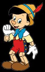 Pinocchio clipart