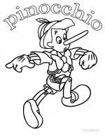 Pinocchio coloring