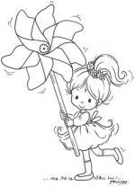 Pinwheel Jasmine coloring