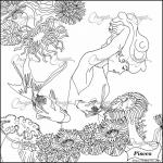 Pisces coloring