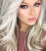 White Hair coloring
