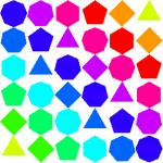 Polygon clipart