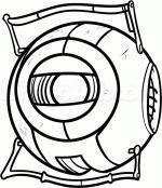Portal (Video Game) coloring