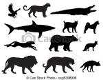 Predator (Animal) clipart