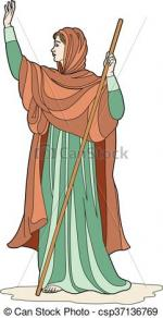 Priestess clipart