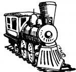Railroad clipart
