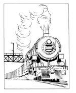 Railroad coloring