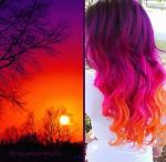 Rare Sunset coloring