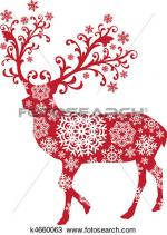 Red Deer clipart
