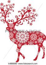 Red Deer clipart