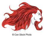 Red Hair clipart