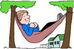 Resting clipart
