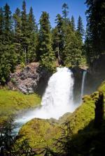 Sahalie Falls clipart