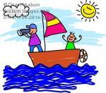 Sailing clipart