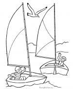 Sails coloring