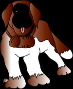 Saint Bernard svg