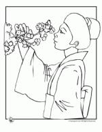 Sakura Blossom coloring
