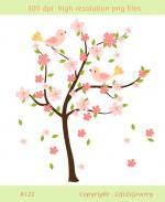 Sakura Tree clipart