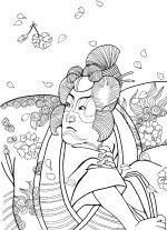 Samurai coloring