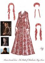 Sansa Stark coloring