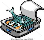 Sardine clipart