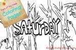 Saturday coloring