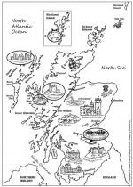 The Hebrides coloring