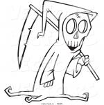 Grim Reaper coloring