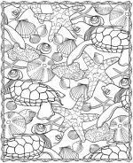 Sea Life coloring
