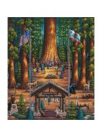 Sequoia National Park coloring