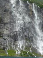 Seven Sisters Waterfall, Norway svg