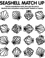 Shell coloring