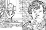 Sherlock Holmes coloring