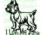 Yrokshire Terrier svg