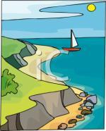 Shoreline clipart