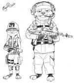 Siege coloring