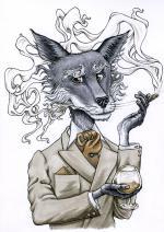 Silver Fox svg
