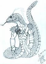 Snakeman coloring