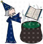 Sorcerer clipart