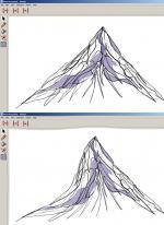 Stratovolcano coloring
